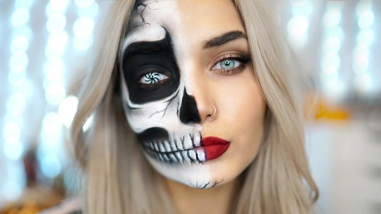 maquillage-halloween-demi-visage-options