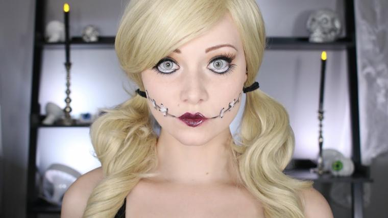 maquillage-halloween-options-poupées-idées