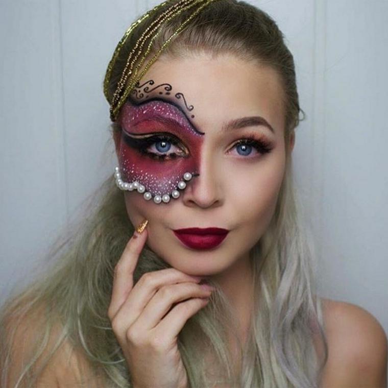Maquillage-Halloween-Perles-Idées-Originaux