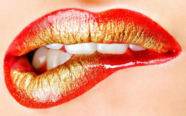 Maquillage de lèvres-tours-maison
