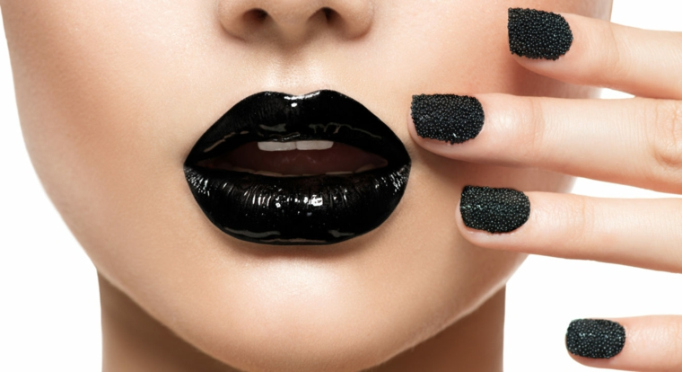 conseils beauté-maquillage-lèvres-noir