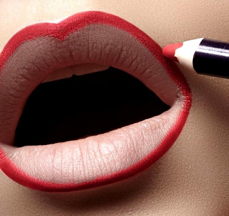 maquillage des lèvres-crayon-secrets