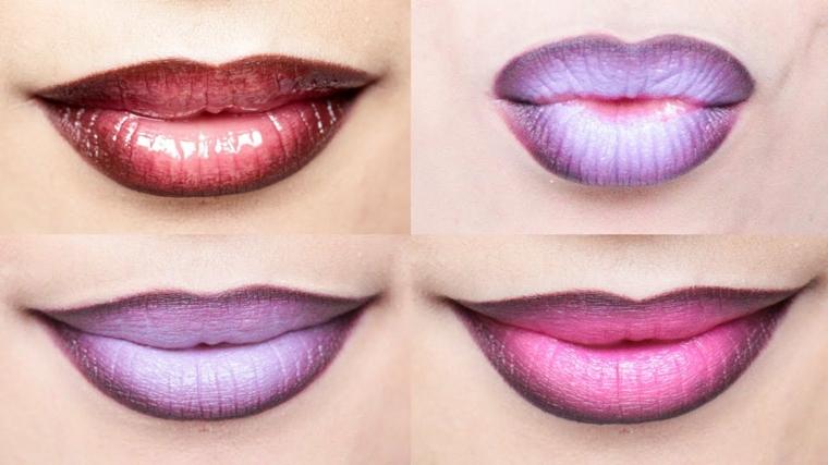 maquillage nuit-lèvres-moderne