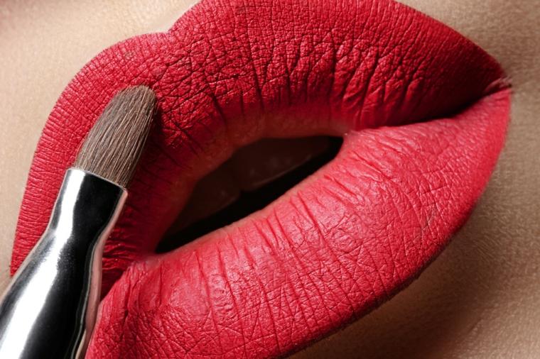Maquillage des lèvres-choix-couleur