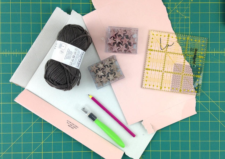 artisanat-pour-noel-facile-faire-matériaux