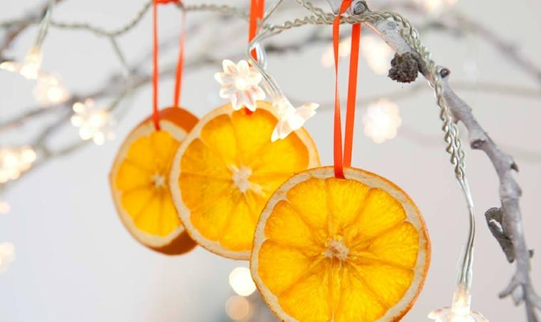 Décorations de Noël-fruits-décorer