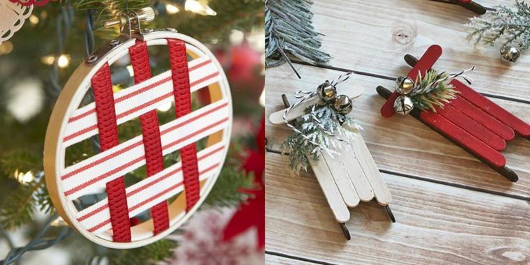 facile artisanat-décorer-arbre-noël