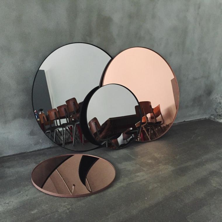 miroirs décoratifs-intérieurs-modernes