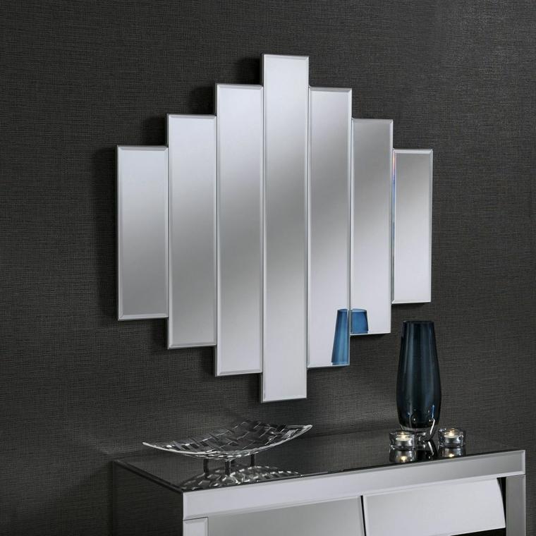 miroirs modernes-décorer-murs