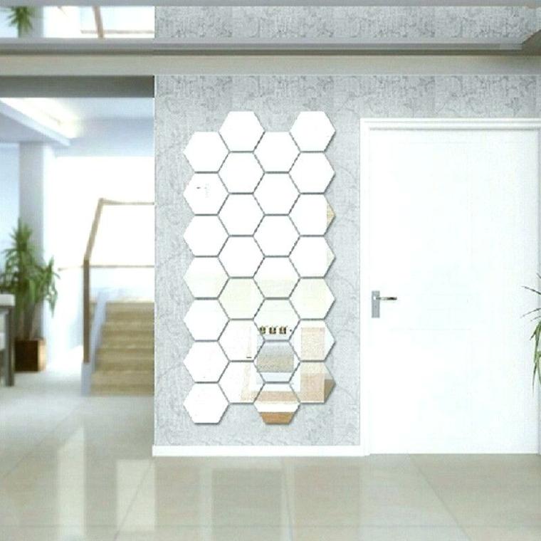 décoration avec miroirs-murs