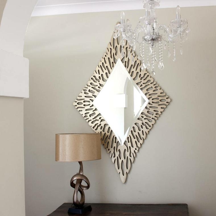 mur-moderne-miroirs intérieurs