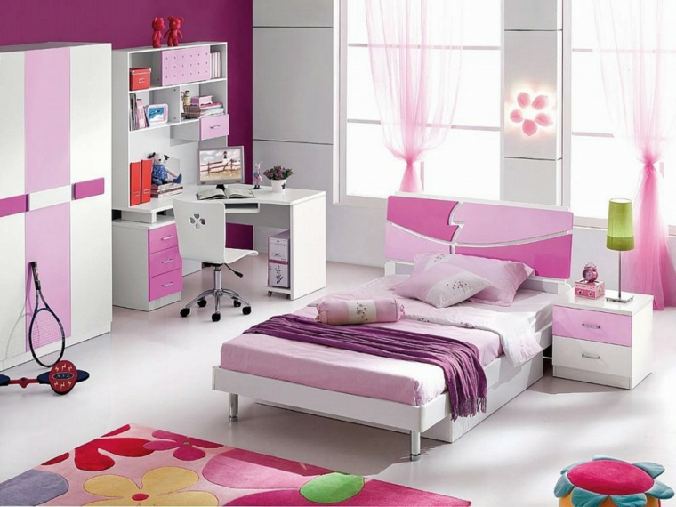 mobilier minimaliste-chambres-jeunesse