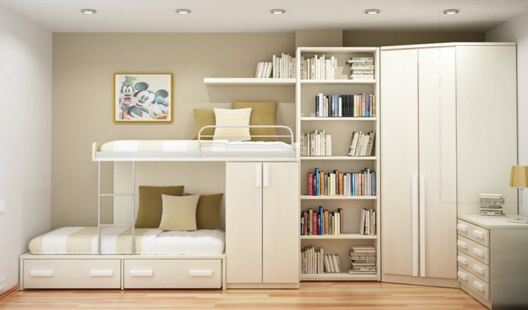 mobilier minimaliste-chambres-moderne