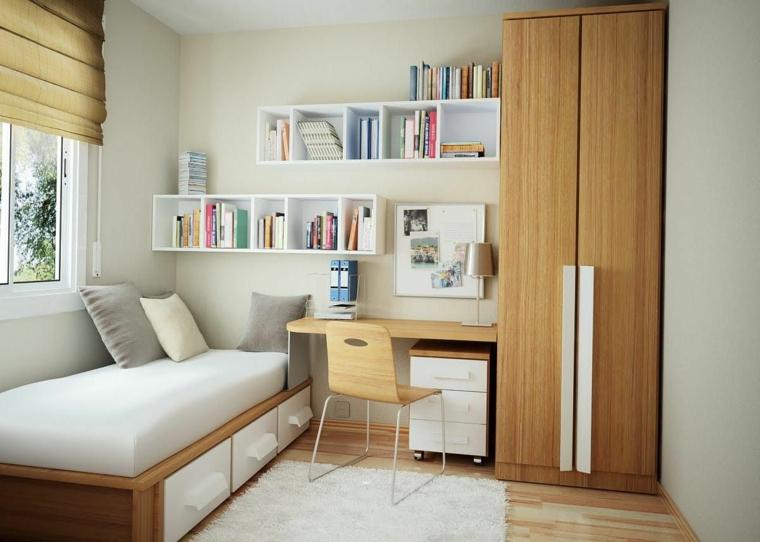 meubles modernes en bois-intérieurs-juvéniles