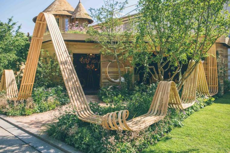 conceptions de meubles de nature