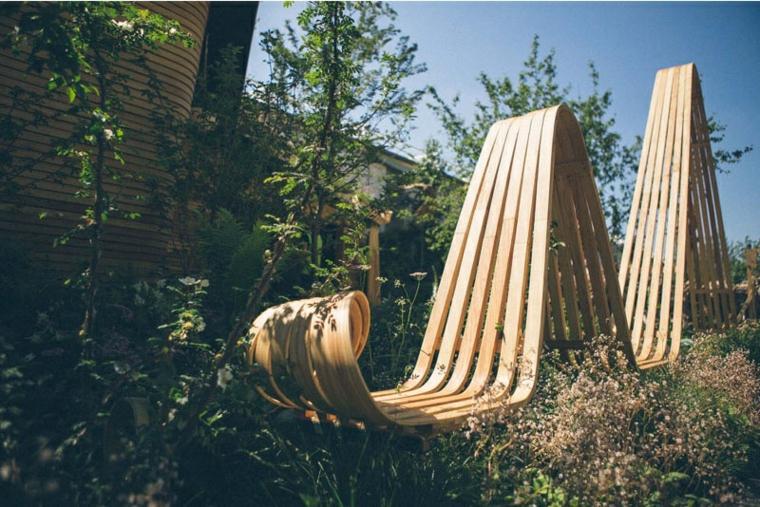 mobilier nature plantes hautes