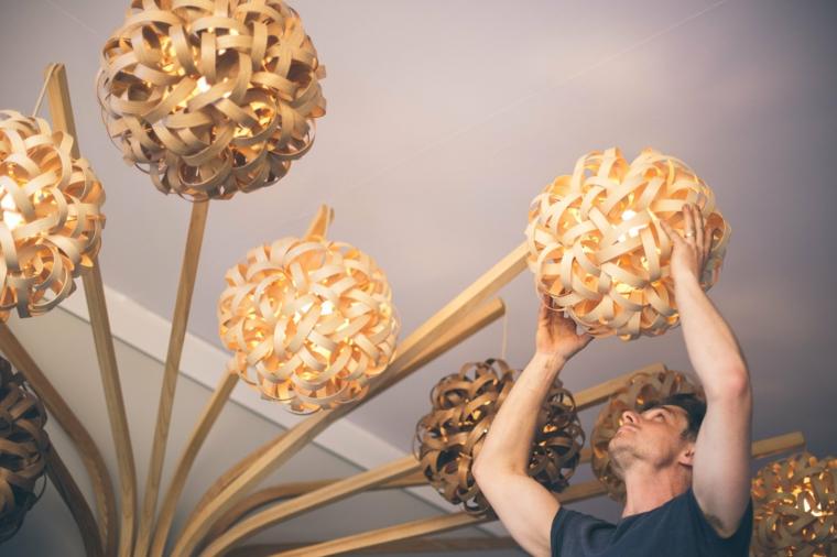 lampes de montage personnalisées créatives