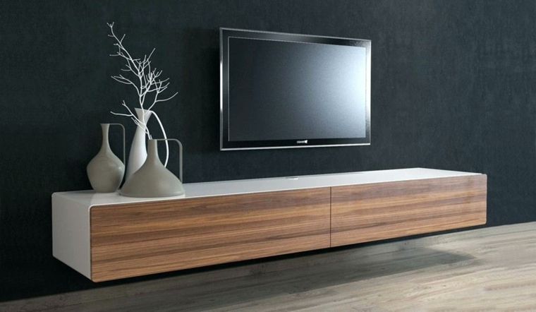 meubles en bois-minimaliste-décorer