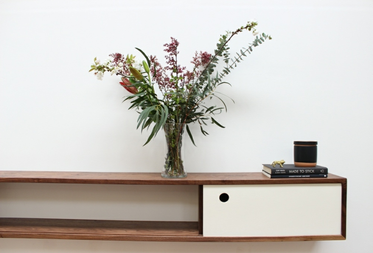 mobilier de décoration minimaliste-flottant