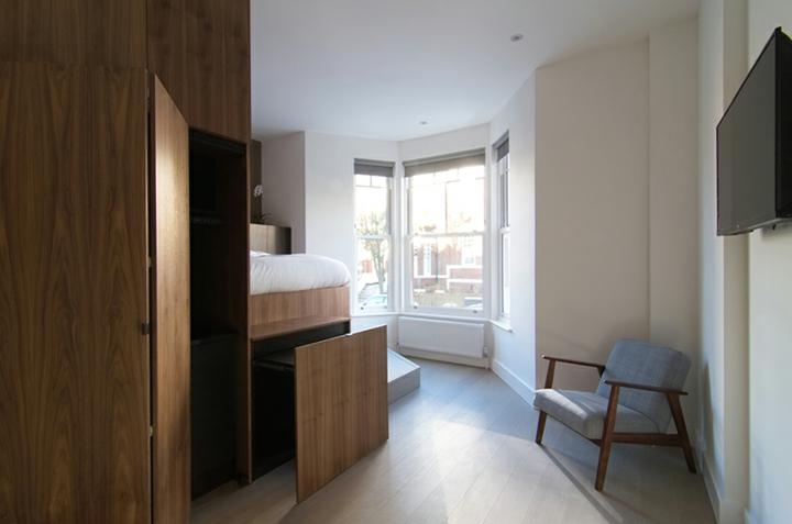 espace de couchage des meubles modulaires