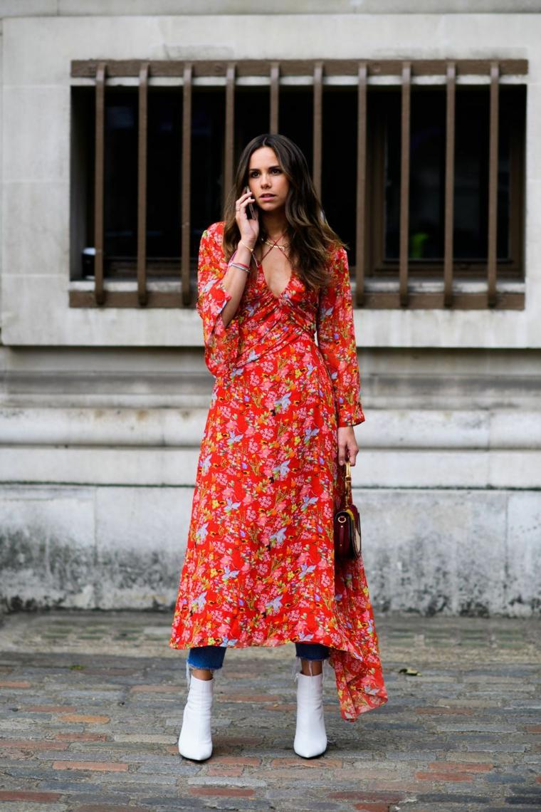 mode-2018-style-femme-robe-coloré