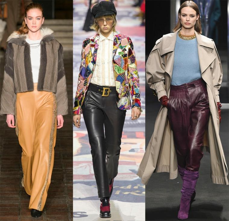pantalon-cuir-mode-2018-hiver