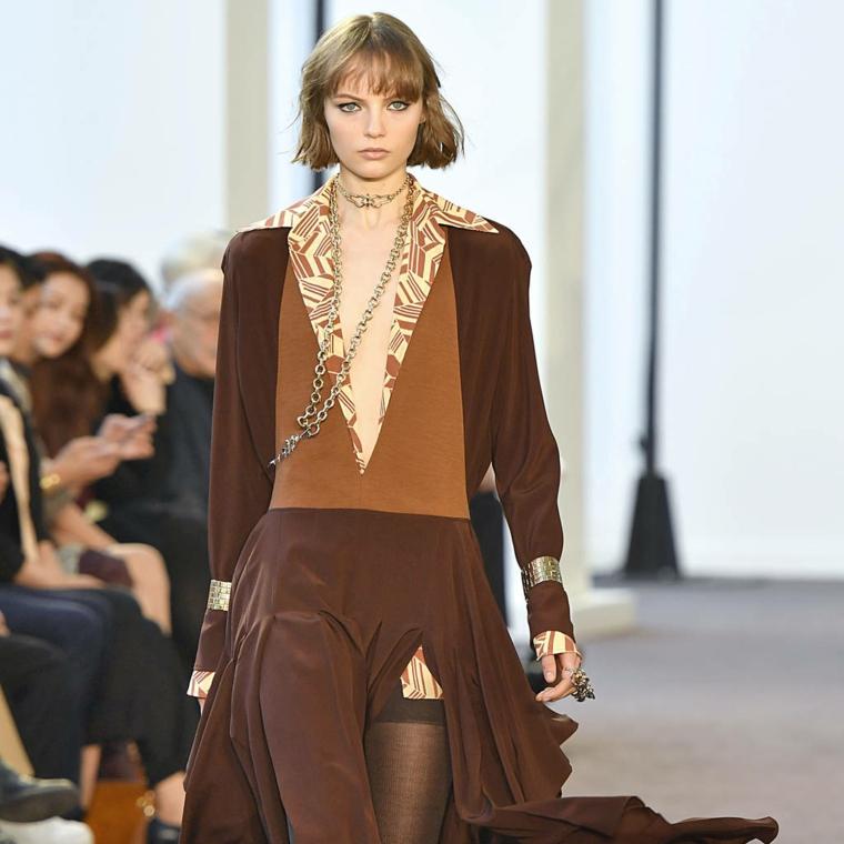 mode pour femme couleur marron