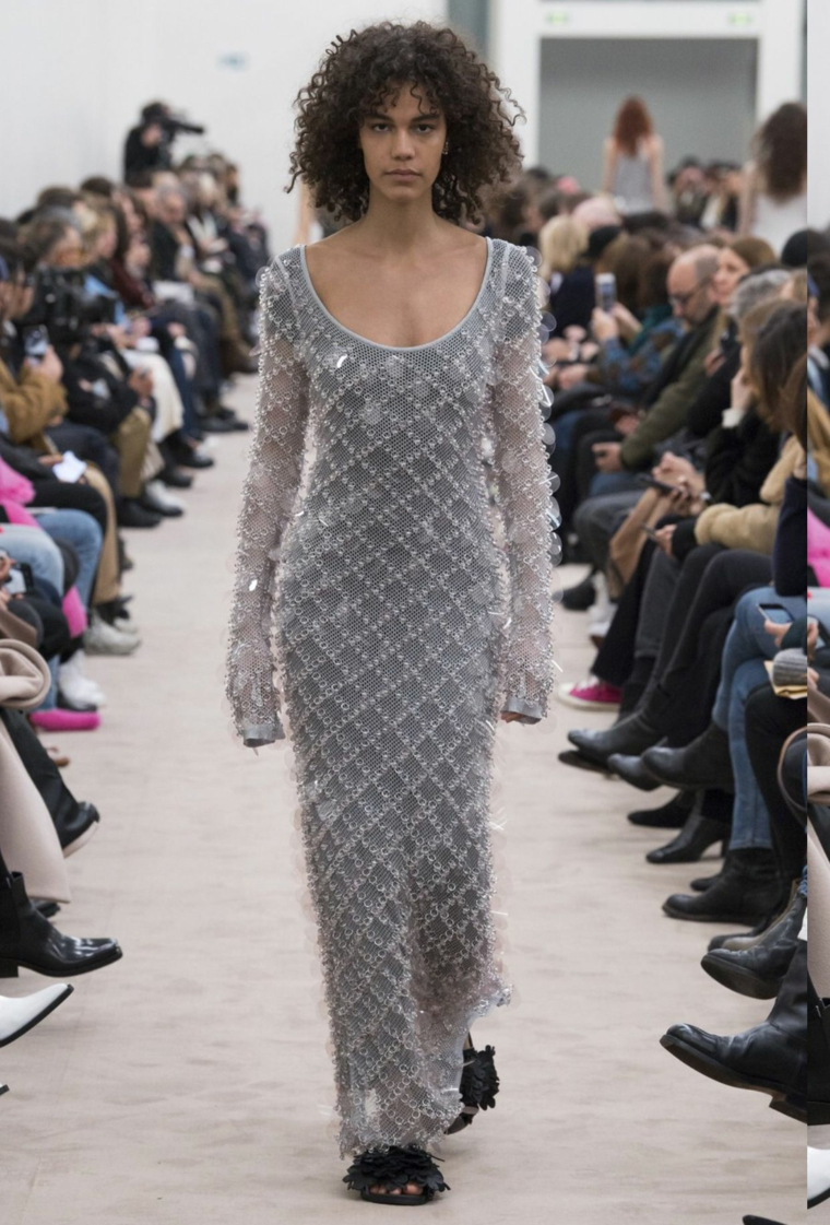 mode pour les femmes robe-paillettes