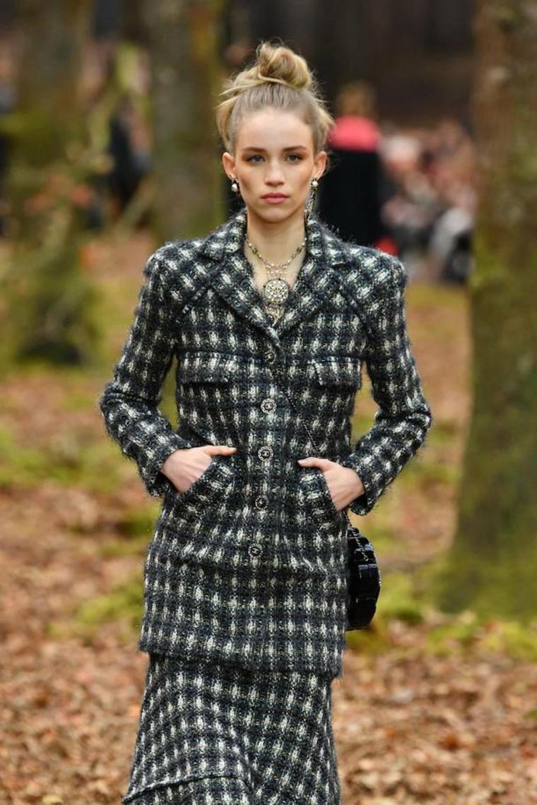 mode pour les femmes tweed