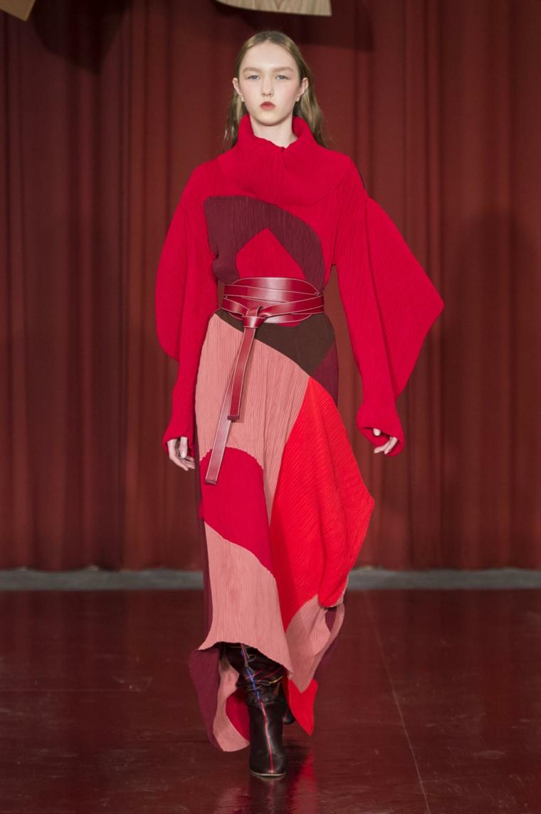 robe longue dautomne