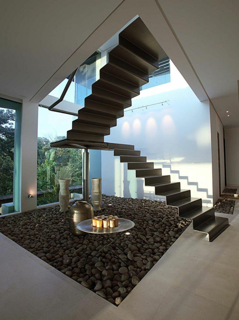 escalier en colimaçon-éléments-noirs