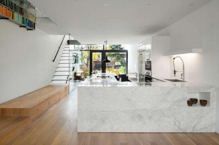 escalier intérieur-noir-décorer