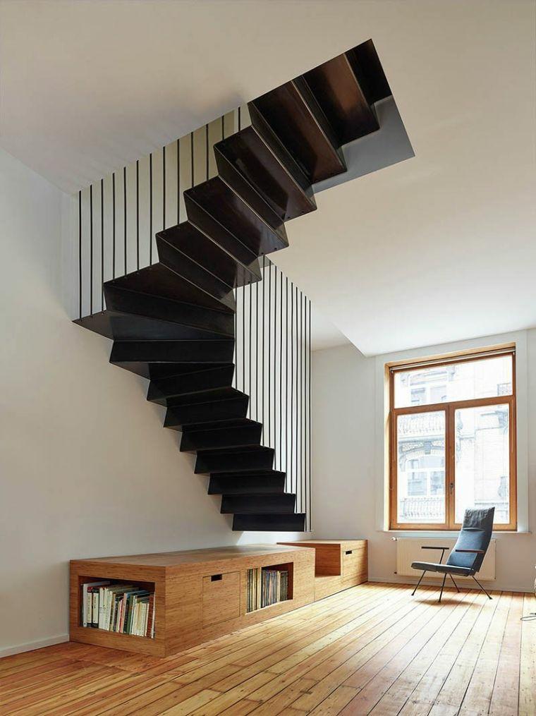 modèles descaliers modernes