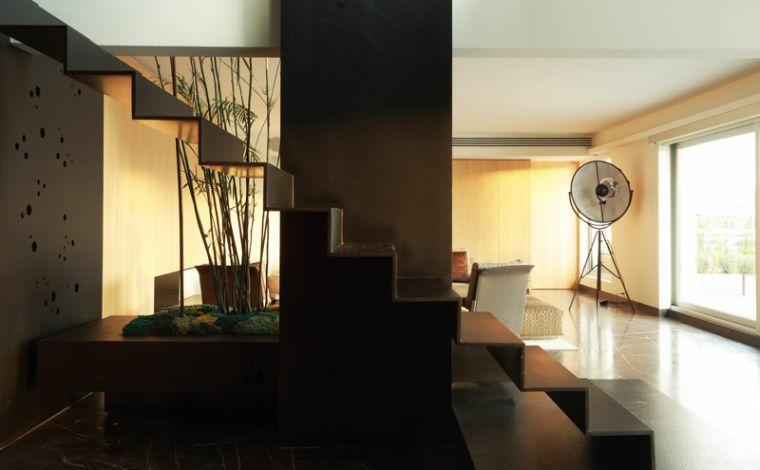 modèles descaliers-noir-décorer