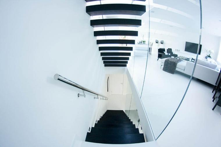 modèles descalier-noir-intérieur