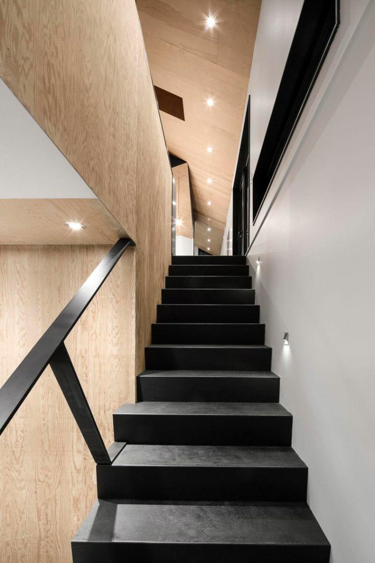 modèles descaliers-bois-noir