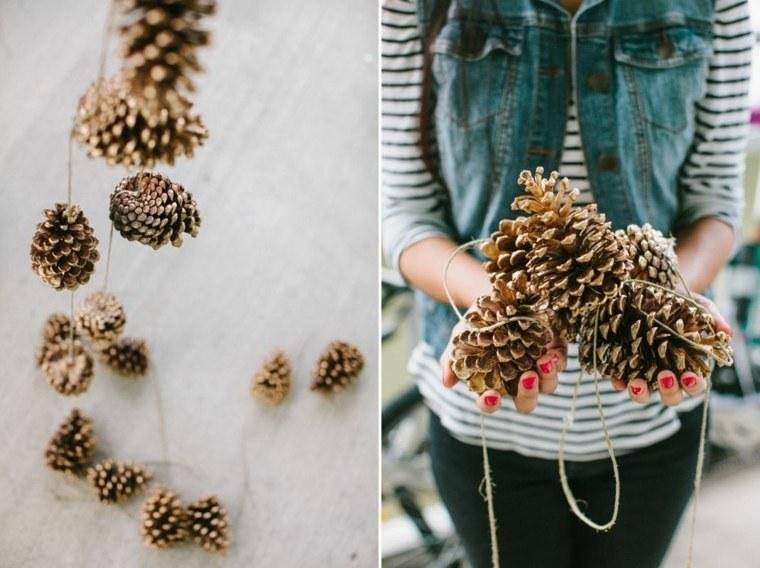 pinas-guirlandes-decoratives-belles