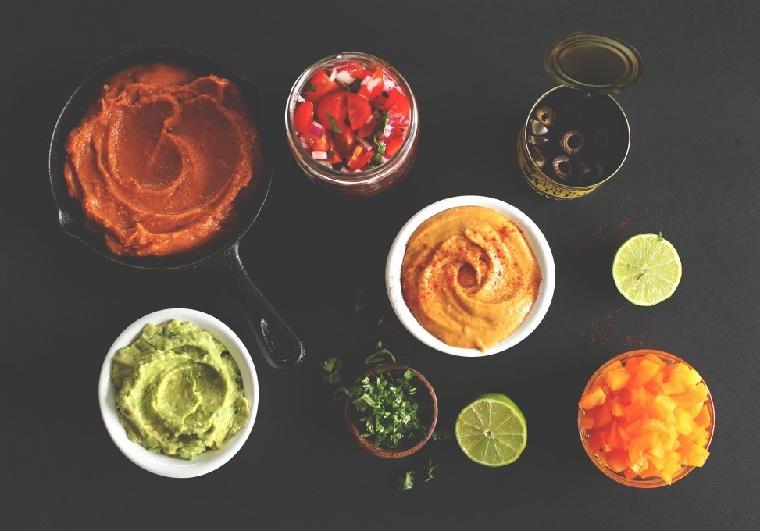 nourriture-végétarien-mexicain-idées-recette-sauce
