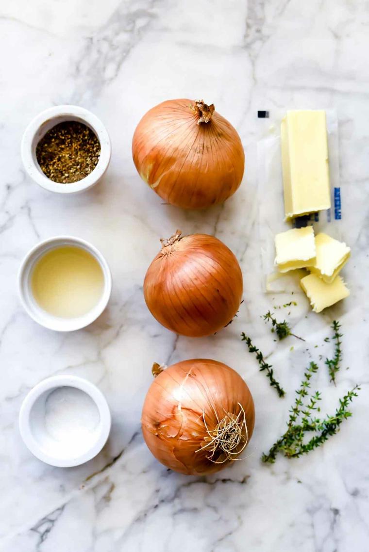 recette maison à loignon caramélisé