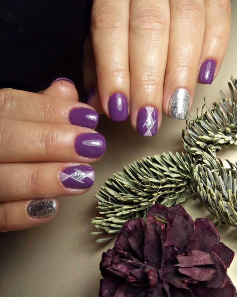 manucure-couleur-violet-style-ceux
