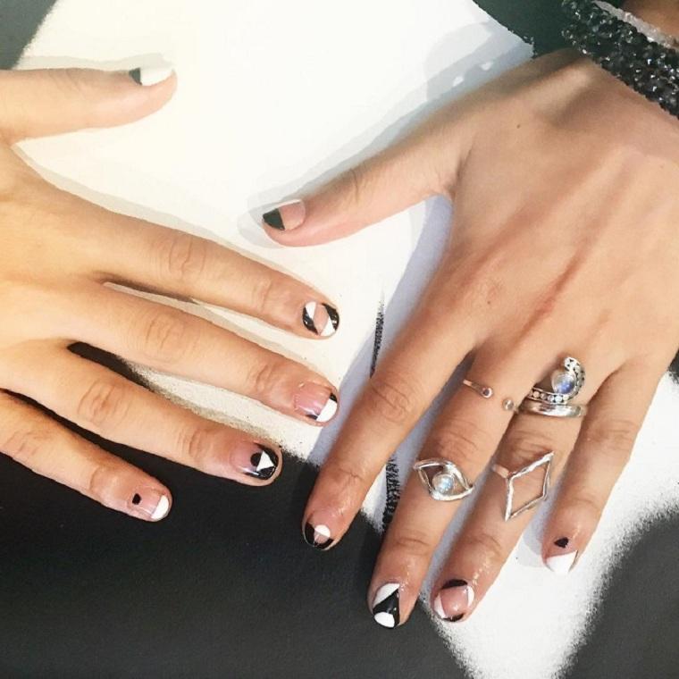 certaines-options-décorées-style-blanc-noir
