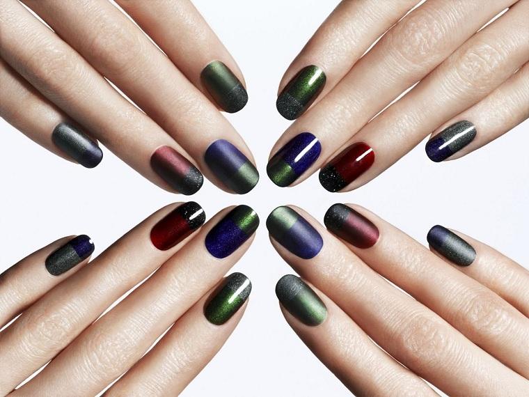idées-manicura-combinacion-colores-oscuros