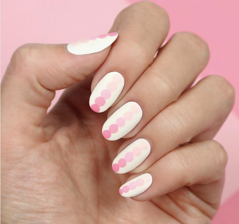 ongles peints-design-geometric-pastel-colors