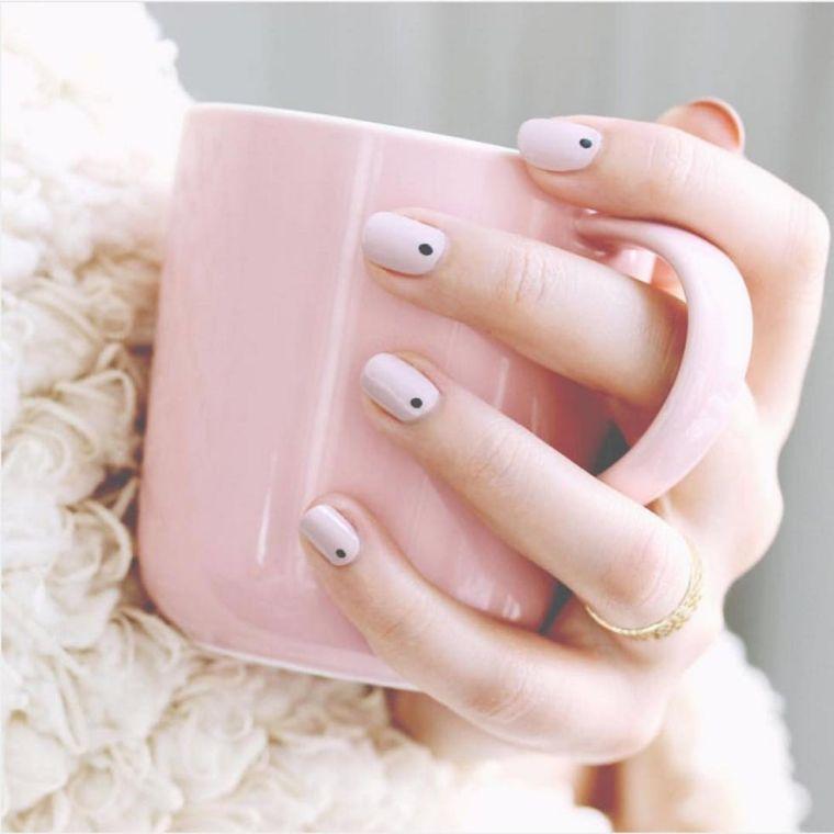 ongles peints-design-geometric-minimalist