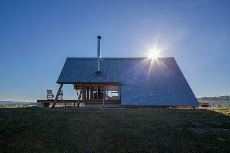 paysage rural architecture moderne