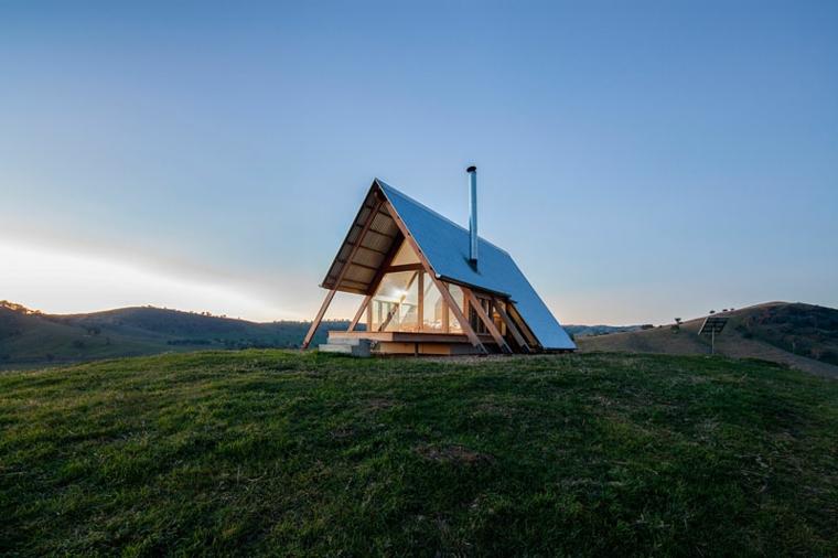 petite maison paysage rural