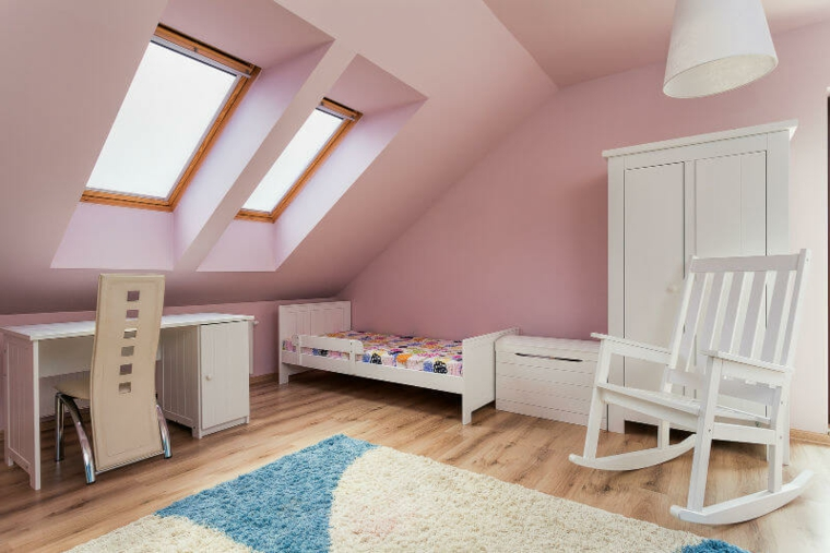 conception de la chambre rose