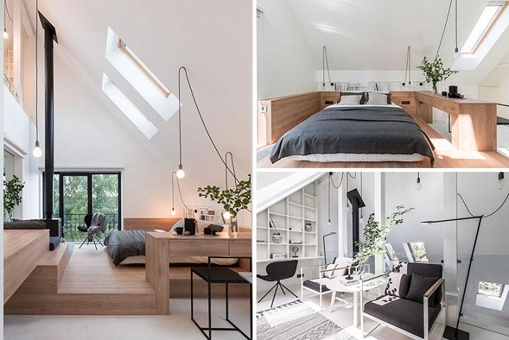 penthouse spécial fonctionnel et moderne