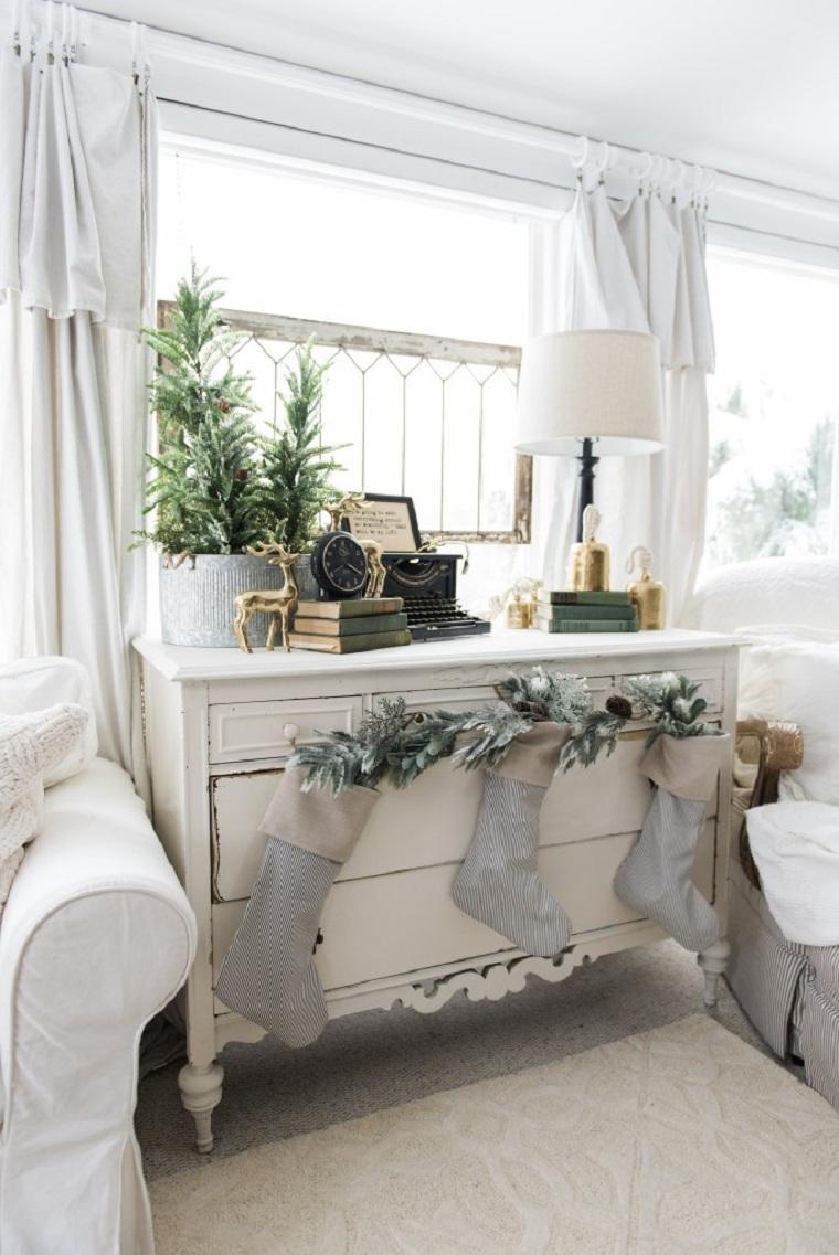 arbre-petite-maison-décorer-style