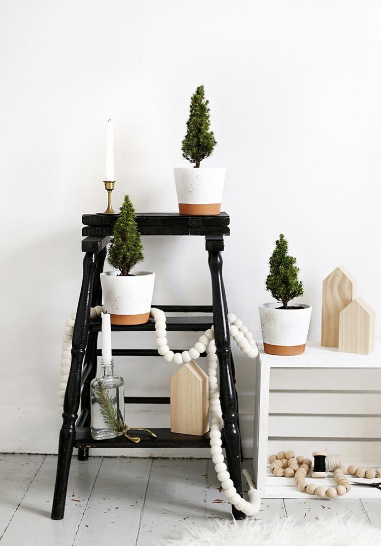 arbres-mini-pots-decorer-maison-noel